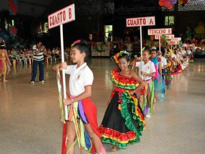 El sábado se celebró la jornada de desfile por cursos.