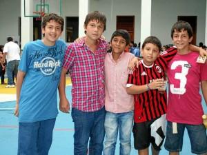 Juan Felipe Restrepo, Santiago Adolfo Pinto, Luis Orlando Plata Marín, José Villamil y Juan Pablo Gualdrón Ramírez.