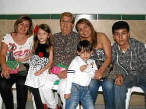 Sandra Milena Leguizamón, Sairy Juliana Portilla, Teresa Olarte, Juan Felipe Portilla, María Teresa Leguizamón y Juan David Carreño.