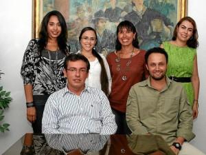 Kattia Palacio, Erika Serrano, Jenny Angulo, Lina María Camargo, Néstor Santos y Luis José Galvis inician sus estudios en agosto.