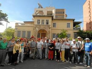 Unas sesenta personas asistieron el pasado sábado 5 de mayo a la caminata que se realizó por los sectores de El Prado y Cabecera.