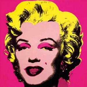 Uno de los muchos retratos que Warhol le hizo a la diva.