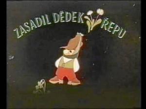 SALA JORGE ZALAMEA, UIS, CINE MERIDIANO. 12 M. Martes 22 - Circuito de cortometrajes Zasadil dědek řepu (Grandpa planted a beet). República Checa, 1945. Animación.
