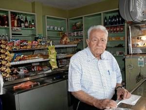 Don Jaime estuvo en su tienda por 44 años.