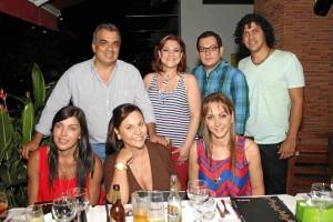 Mauricio Hernández, Sandra Barrera, Oscar Villamizar, Manolo Carrascal, Isabella Santodomingo, Patricia Grisales y Carmen Alicia Remolina.