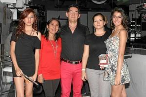 Aljani Ramírez, Mayerli Ortiz, Ciro Caballero, Leidy Jaramillo y Vanesa Bonilla.