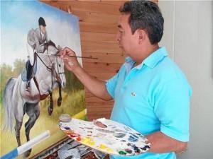 Misael Sánchez Álvarez es oriundo de Matanza, Santander.