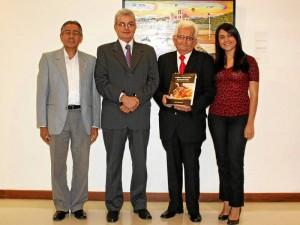 Víctor Hugo Parra Reyes, Víctor Hugo Morales, Fidel Castillo Blanco y Marly Corzo.