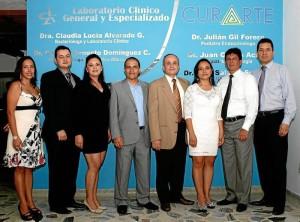 Sandra Milena Hernández Molano, Julián Ar-turo Gil, Sharon Yadira Morales, Diego Iván Estupiñán, Raúl Salazar, Karina Navarro, Juan Carlos Acuña y Jovany Beltrán.