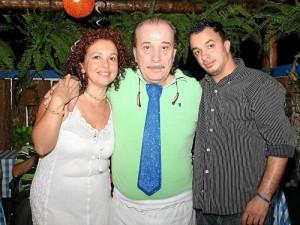 Análida Villamizar, Gino D'Rosa y Marlon Mauricio Castillo.