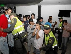 La Policía y la Alcaldía realizaron operativos en 'chiquitecas' de Cabecera.