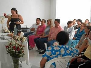 En la Eucaristía participó un número grande de residentes de Altoprado.