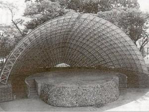 Así era la Concha Acústica en los años 70.