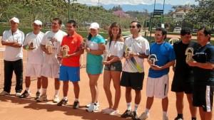 Así fue la premiación del Torneo Invitacional de Tenis de Acuarela.