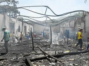 Más de 200 familias quedaron sin techo y sin medios de subsistencia luego de la tragedia.