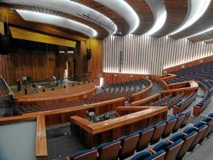 El auditorio Luis A. Calvo está de cumpliendo 30 años de vida.