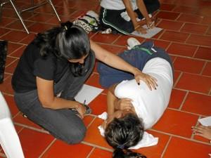 Por estos días la fundación adelanta talleres en el Museo de Arte Moderno de Bucaramanga.