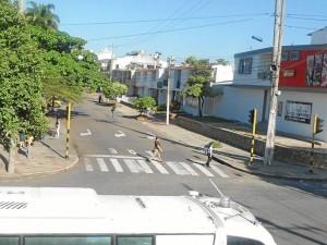 Calle de colegio San Pedrito, Día Sin Carro