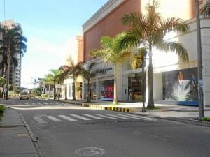 Carrera 38 frente a La Quinta Centro Comercial, el Día Sin Carro
