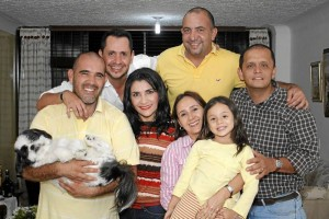 Wilfredo Pinto, Mario Alberto Guerrero, Alfonso Cuadros, Sergio Alberto Cardozo, Rocío Chica Betancourt, Liz Arenas y María Sofía Guerrero.