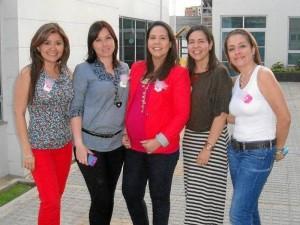 Luisa Fernanda Gamboa, Laura Mateus, Angélica Lizarazo, Andrea Lizarazo y Ángela María Mateus.