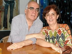 Luis Uribe y Luz Marina Gaitán.