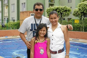 Luis Fernando Ducón, Ana Sofía Ducón y Mónica Liliana Camargo.