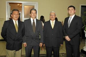 Jesús Alberto Contreras Ferrer, José Félix Reyes Álvarez, Carlos Augusto Amorocho y Omar Alberto Rueda Rueda.