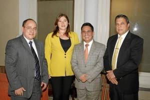 Hugo Armando Moreno, Socorro Jerez Vargas, Luis Enrique Joya y Jairo Enrique Serrano Acevedo.
