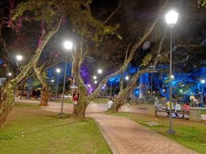 El atraco a la joven de 22 años ocurrió en el parque San Pío, hacia las 10 p. m.
