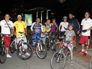 Se llevará a cabo el tercer Ciclopaseo Nocturno por Bucaramanga