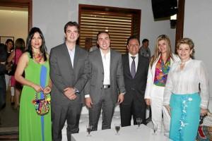 Alba Stella Franco, Juan Camilo Beltrán, Richard Aguilar, Luis Francisco Bohórquez, Glenys Pedraza Santamaría y Omaira Ballesteros.