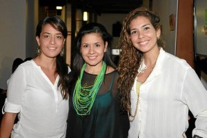 Johana Franco, Mela Franco y Carolina Ochoa.
