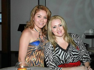 Rocío Durán y Stella Durán.