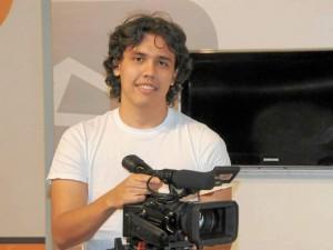 Camilo Andrés Arenas Villabona es productor en artes audiovisuales en esta institución universitaria.