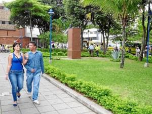 El parque es hoy uno de los sitios más verdes de la zona de Cabecera.