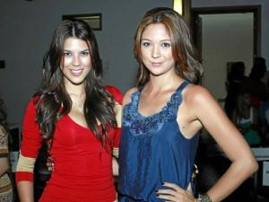 Laura Patiño y Viviana Ramírez