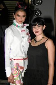 Tatiana Arias y Silvia Alfonzo.