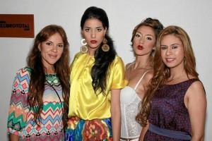 Andrea Leyva, María Juliana López, Laura Lázaro  y Ángela Suárez.