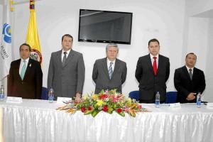 Carlos Ibáñez, Dilmar Ortiz, Volmar Pérez, Orlando Muñoz y René Garzón.