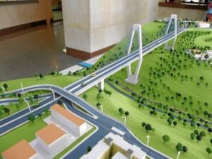 El Viaducto La Novena es una de las obras que se adelantan por estos días en Bucaramanga.
