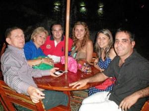 Germán Gómez, Fanny Gómez, Marcelo Oliva, Sandra Garzón, Dayana Gómez.y Camilo Villamizar.