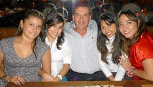 Liset Amaya, Viviana Ríos, Juan Carlos Domínguez, Erika Lozano y Ana Milena Manosalva.