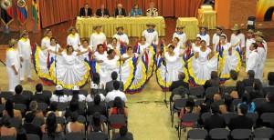 El Coro Unab es dirigido por Rafael Ángel Suescún Mariño.