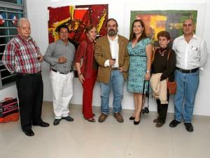 José Alberto Becerra, Jesús Aldana, Isabel Prince, Néstor Rueda Castellano, Leidy Jaramillo, Amalia Tamayo y Daniel Rueda Serrano.