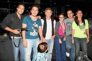 Oscar Javier García Rodríguez, David Neira, Fercho Peña, Verónica Trillos, Carlos Sarmiento y Angélica Trillos.