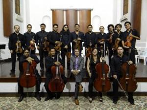 La orquesta de cámara de cuerdas de la Filarmónica de Santander se presentará este viernes 27 de julio en el Centro Cultural del Oriente.