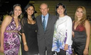 Angie Carolina Estupiñán, Johanna Rivera Pérez, Alberto Montoya Puyana, Laura Rincón, Lina Marcela Luna.