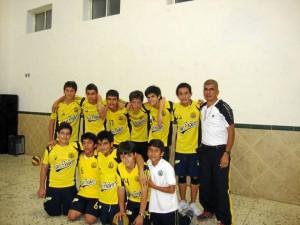 Este es el equipo infantil del San Pedro Claver.