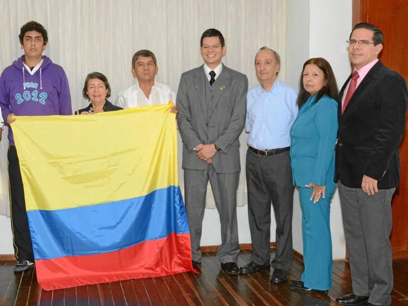 Juan Camilo Cornejo, Himelda López, Pascual Contreras, William Omar Contreras López, Padre Horacio Botero, Fanny Hernández y Juan Carlos Amarillo.
